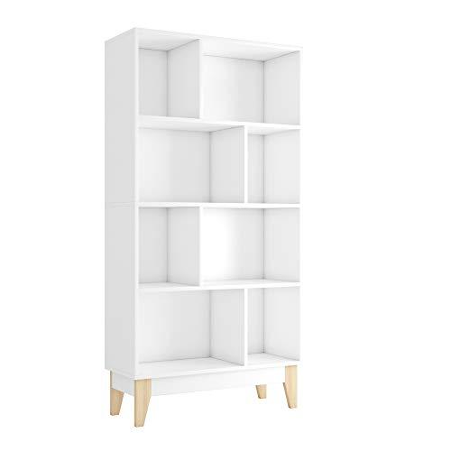 Homfa Bücherregal Bücherschrank Regal mit 8...