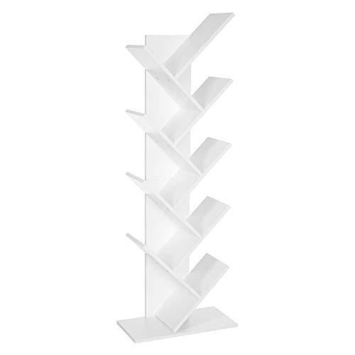 VASAGLE Bücherregal, 8 Ebenen, Baumform,...
