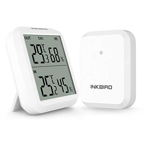 Inkbird ITH-20R Funk Thermo Hygrometer mit...