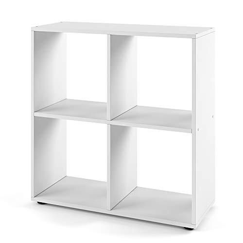 Vicco Bücherregal Tetra 4 Fächer Raumteiler...