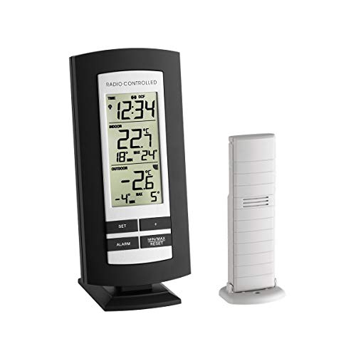 TFA Dostmann Funk-Thermometer Basic,...