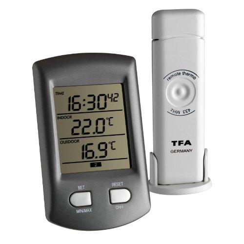 TFA Dostmann Funk-Thermometer Ratio,...