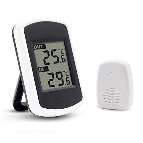 Ulable Digitales Funkthermometer für Innen-...