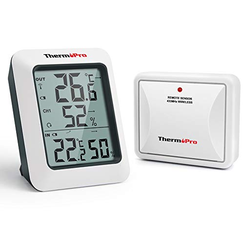 ThermoPro TP60S Funk Thermo-Hygrometer...