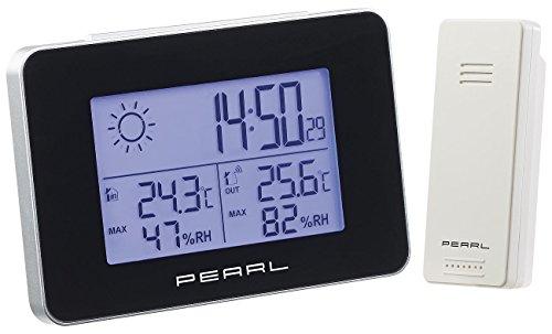 PEARL Funkthermometer: Wetterstation mit...