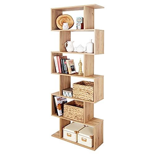RICOO Bücherregal Raumteiler Standregal...