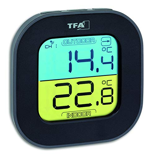 TFA Dostmann Fun Thermometer mit Aussensensor...
