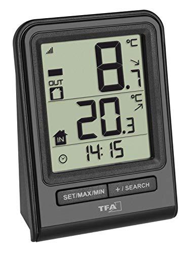 TFA Dostmann Prisma Funk-Thermometer,...
