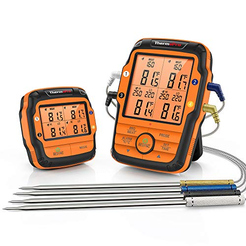 ThermoPro TP27C 150m Funk Grillthermometer...