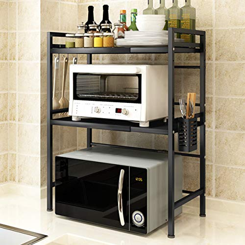 Mocosy Expandable Microwave Oven Rack, 2-Tier...