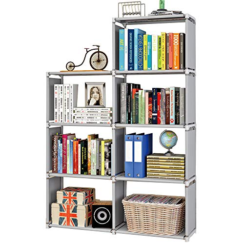 MOAMUN Würfelregal Bücherregal Regal mit 7...