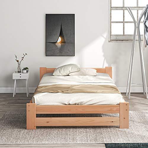 Harper Bright Designs Solide Massivholzbett...